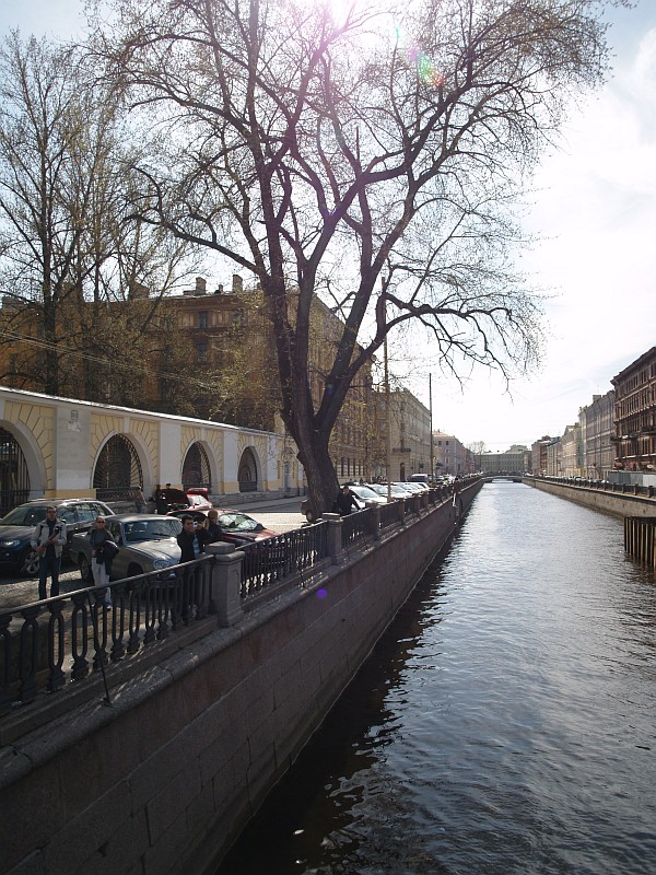 канал Грибоедова у финэка